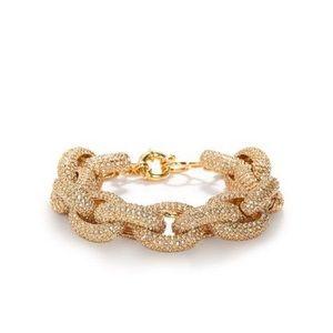 Jewelry - Large Rhinestone Chain Link Bracelet